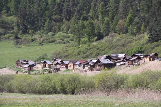 Rómska osada Spišské Bystré
